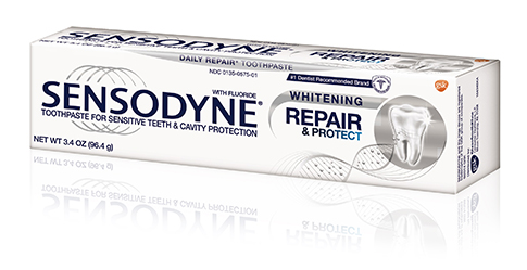 Sensodyne® | Repair and Protect Whitening Toothpaste